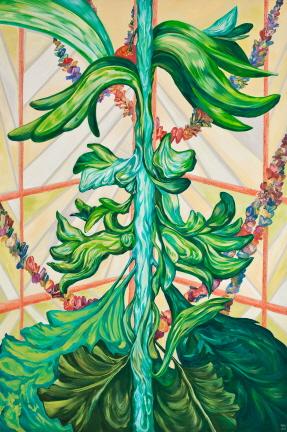 Immortal tree  Acrylic on Canvas 100x150cm  2012